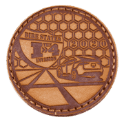 I4 invasion leather patch
