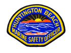Huntington Beach Safety Officer Patch