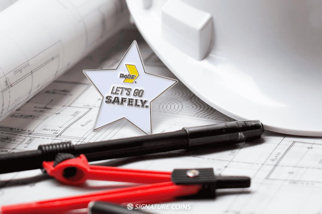 Safety Award Pins