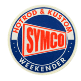 SYMCO woven patch