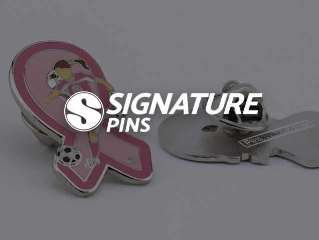 Signature Pins Awareness Pin