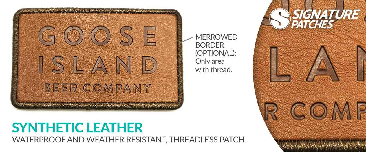 SignaturePatches-Synthetic-Leather