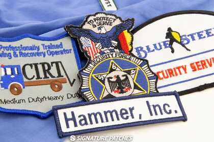 Uniform Name Patches