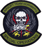 Airsoft-Team-Military-Patch