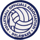 Volleryball-Officials-Association-Delaware-Sports-Patches