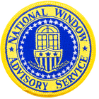 National Window Advisory Service Iron On Patch