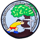 Pediatric Orthopaedic Spine and Trauma Surgeons Iron On Patch